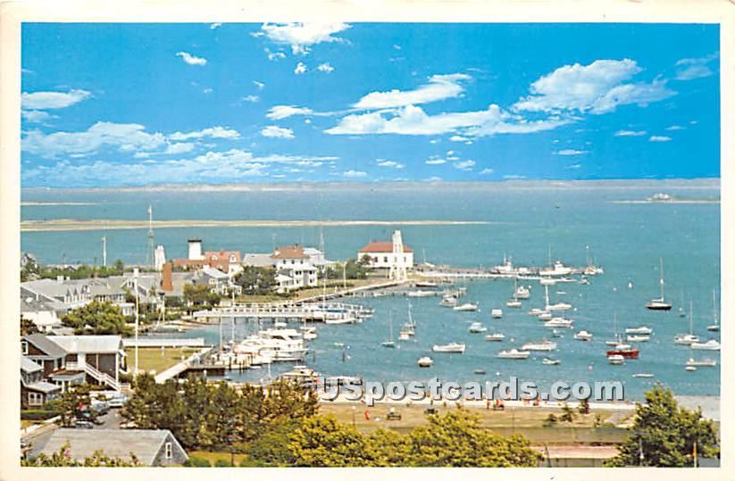 Brant Point - Nantucket, Massachusetts MA Postcard