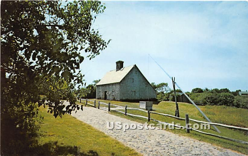 The Oldest House built in 1686 - Nantucket, Massachusetts MA Postcard