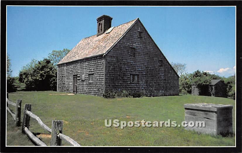 Jethro Coffin House 1686 - Nantucket, Massachusetts MA Postcard