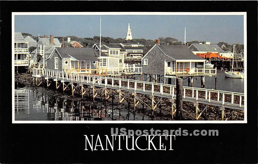 Morning Stillness - Nantucket, Massachusetts MA Postcard