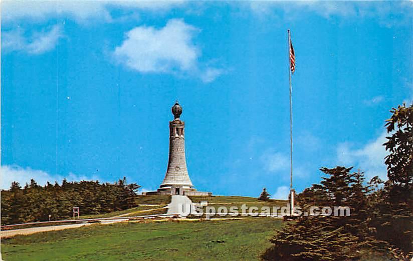 Atop Mount Greylock - North Adams, Massachusetts MA Postcard