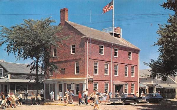 The Pacific Club Nantucket, Massachusetts Postcard