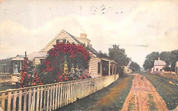 A 'Sconset Cottage Nantucket, Massachusetts Postcard