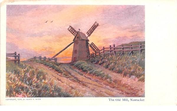 The Old Mill Nantucket, Massachusetts Postcard