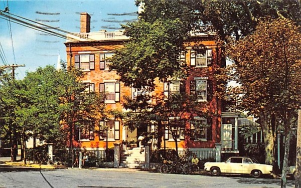 Jared Coffin House Nantucket, Massachusetts Postcard