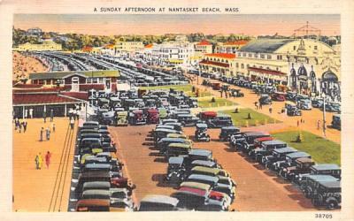 A Sunday Afternoon  Nantasket Beach, Massachusetts Postcard