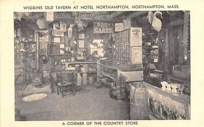 A Corner of the Country Store Northampton, Massachusetts Postcard