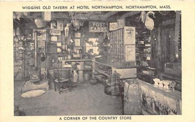 A Corner of the Country Store Northampton, Massachusetts Postcard