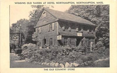 The Old Country Store Northampton, Massachusetts Postcard