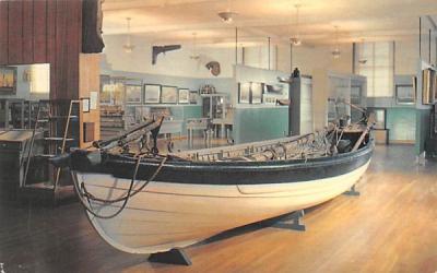 30' New Bedford Whale Boat Massachusetts Postcard