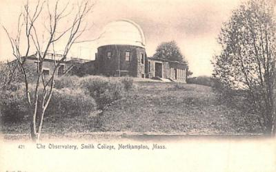 The Observatory  Northampton, Massachusetts Postcard