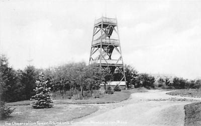 The Observation Tower Newburyport, Massachusetts Postcard