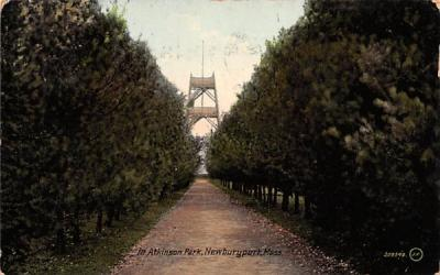 In Atkinson Park Newburyport, Massachusetts Postcard