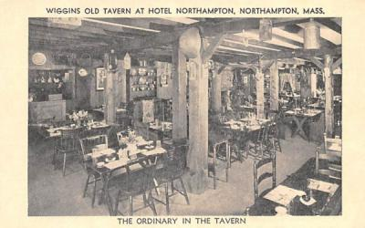 The Ordinary in the Tavern Northampton, Massachusetts Postcard