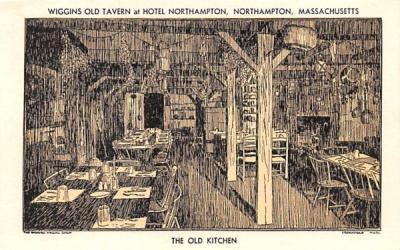 The Old Kitchen Northampton, Massachusetts Postcard