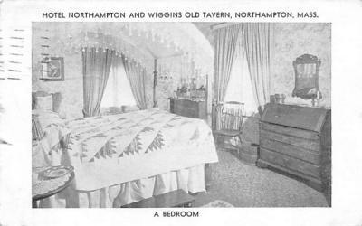 A Bedroom Northampton, Massachusetts Postcard