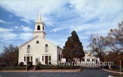 Baptist Church - Osterville, Massachusetts MA Postcard