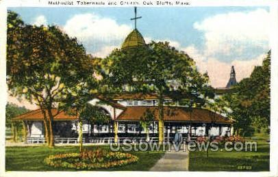 Methodist Tabernacle & Church - Oak Bluffs, Massachusetts MA Postcard