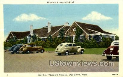 Martha's Vineyard Hospital - Oak Bluffs, Massachusetts MA Postcard