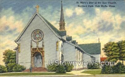 Hartford Park - Oak Bluffs, Massachusetts MA Postcard