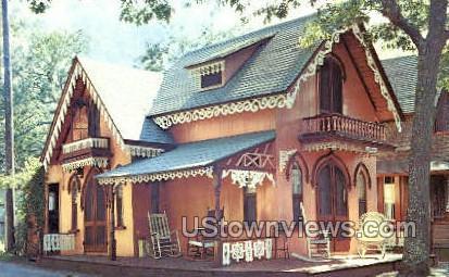 Gingerbread Cottage - Oak Bluffs, Massachusetts MA Postcard