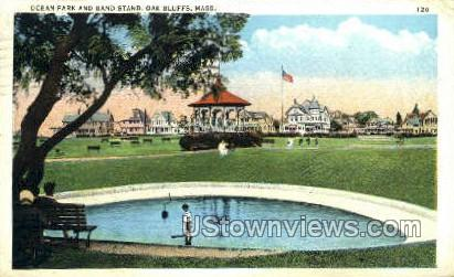 Band Stand, Ocean Park - Oak Bluffs, Massachusetts MA Postcard