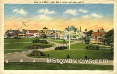 Ocean Park - Oak Bluffs, Massachusetts MA Postcard