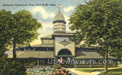 Methodist Tabernacle - Oak Bluffs, Massachusetts MA Postcard