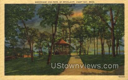 Bandstand & Park - Onset, Massachusetts MA Postcard