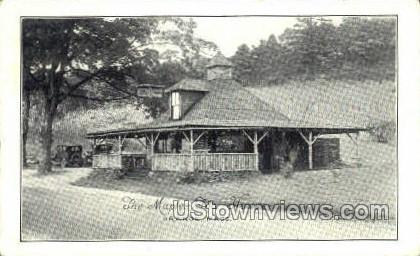 The Maples Tea House - Orange, Massachusetts MA Postcard