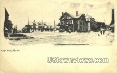 Orange, Massachusetts, MA Postcard