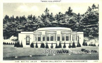 The White Drum - Orange, Massachusetts MA Postcard
