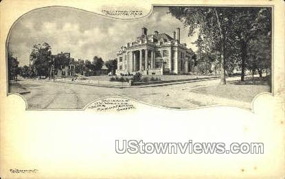 Residence of J.W. Wheeler - Orange, Massachusetts MA Postcard