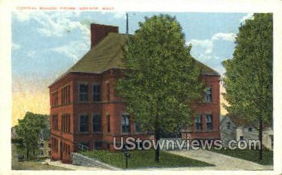 Central School House - Orange, Massachusetts MA Postcard