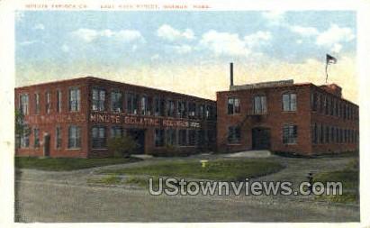 Minute Tapioca Co.  - Orange, Massachusetts MA Postcard