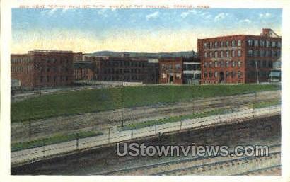 New Home Sewing Machine Co - Orange, Massachusetts MA Postcard