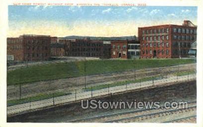 New Home Sewing Machine Co. - Orange, Massachusetts MA Postcard