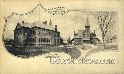 Orange High School - Massachusetts MA Postcard