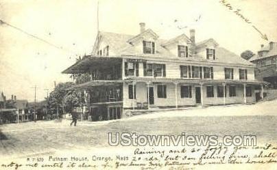 Putnam House - Orange, Massachusetts MA Postcard