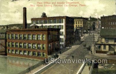 New Home Sewing Machine Co, - Orange, Massachusetts MA Postcard