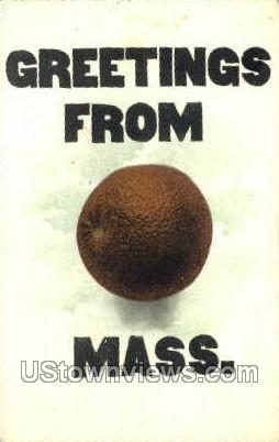 Greetings From - Orange, Massachusetts MA Postcard