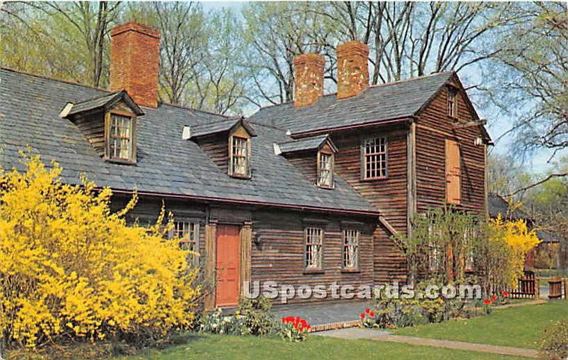 Photo by John Vondell - Old Deerfield, Massachusetts MA Postcard