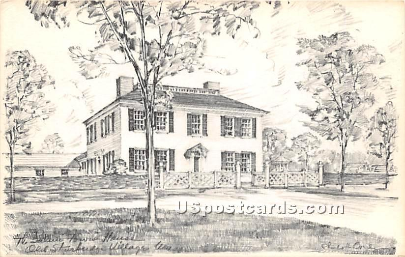 The Salem Towne House - Old Sturbridge Village, Massachusetts MA Postcard