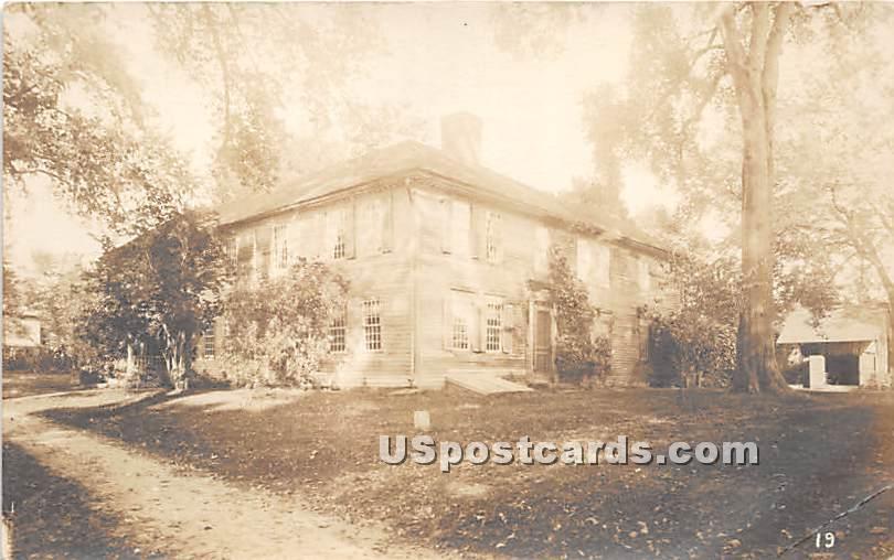 Frary House Built 1698 - Old Deerfield, Massachusetts MA Postcard