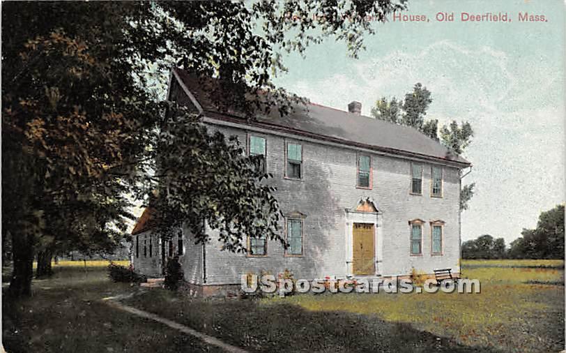 Roy House - Old Deerfield, Massachusetts MA Postcard