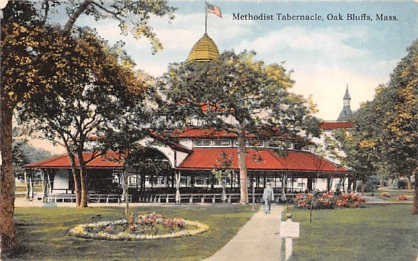 Methodist Tabernacle Oak Bluffs, Massachusetts Postcard