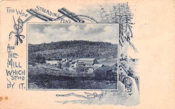 The Wide Spreading Pond Orange, Massachusetts Postcard