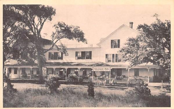 Old Village Inn Oak Bluffs, Massachusetts Postcard