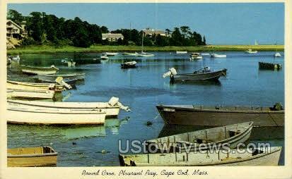 Round Cove, Pleasant Bay - Cape Cod, Massachusetts MA Postcard