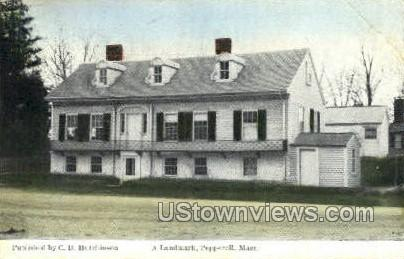 A Landmark - Pepperell, Massachusetts MA Postcard